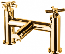 DoratO Adesso Bath Filler Tap in 24ct Gold (1)